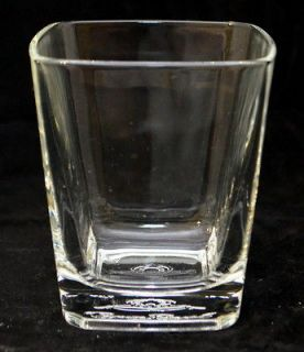 Crown Royal Canadian Whiskey Rocks Bar Tumbler Glass Made in Italy