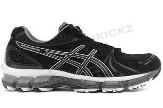 Kayano 18 T250N 9099 New Women Black White Running Cross Training Shoe