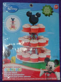MICKEY MOUSE CUPCAKE STAND, CARDBOARD,WILT ON