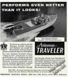 Arkansas Traveler Marquise 15 ft. Custom Sportsman Vintage Boat Ad