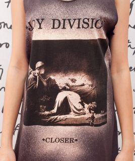 Joy Division Closer Ian Curtis Indie Art WOMEN T SHIRT DRESS Tank TOP