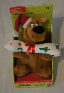 2002 Mini Stuffed Plush Singing Dancing Scooby Doo Character