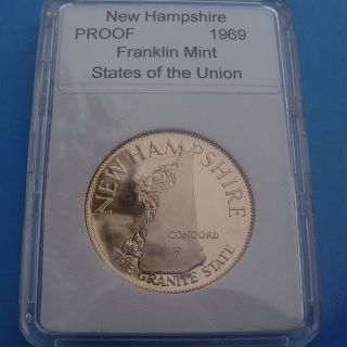 SLABBED Proof States of the Union   New Hampshire The Granite State