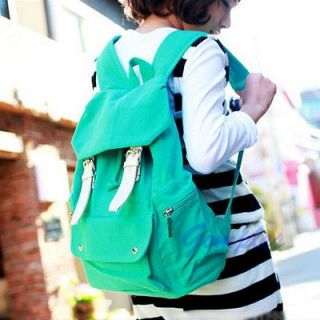 Girl Casual Punk Cute Canvas Shoulder Bag Backpack Satchel School Bag