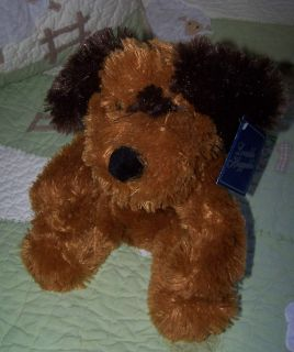 DanDee/Dan Dee Collectors Choice Plush Stuffed Brown/Dark Brown Puppy