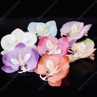 Pick Hawaiian Hawaii Bridal Wedding Party Orchid Flower Hair Clip