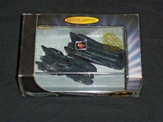HOT WHEELS BATMAN BATMOBILE 2 CAR SET LIMITED EDITION