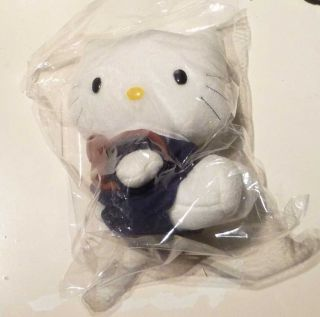 Hello Kitty DEAR DANIEL SCHOOL UNIFORM 6 Plush Toy McDonalds RARE
