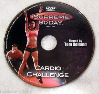 SUPREME 90 DAY WORKOUT   Cardio Challenge   New DVD   Shot In HD