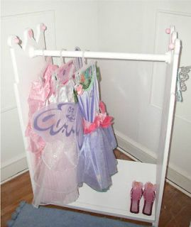 Princess Canopy Bed, Costume Rack Darling