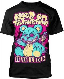 AUTHENTIC LICENSED BLOOD ON THE DANCE FLOOR TEDDY BEAR T SHIRT