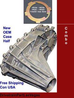 263 Transfer Rear Case Half HD T Case Saver Gaskets (Fits Chevrolet