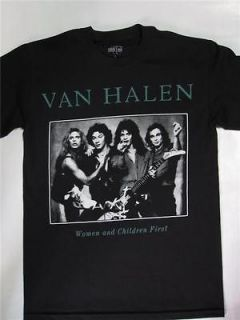 Van Halen   Women And Children First T shirt