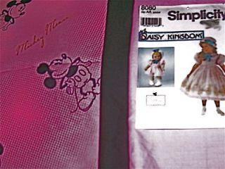 Disney Mickey Mouse Daisy Kingdom Doll Dress Kit fit American Girl