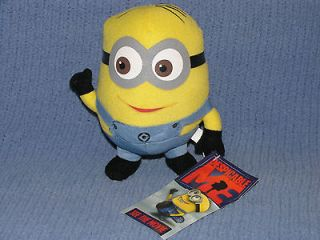 Despicable Me ~ 6 DAVE MINION PLUSH ~ NWT ~ ***US SELLER***