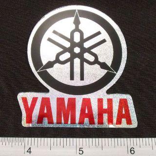 Yamaha Motor Cycles Bike Sticker Reflect Light Decal RBK 2.25x2.5