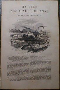 NY Iron Works Foundry Plan 1851 Ship Steam Engine Building