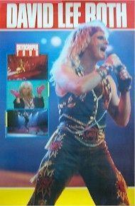 DAVID LEE ROTH ~ SKYSCRAPER TOUR POSTER 23x35 Music Van Halen