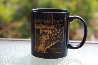 Grand Canyon Arizona Souvenir Blue & Gold Seven Wonders of The World