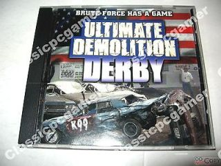 Ultimate Demolition Derby PC Game LOW SHIP