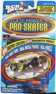 1999 Tech Deck City Stars KAREEM CAMPBELL Tony Hawk Pro Skater Board