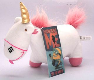 DESPICABLE ME Movie Fluffy Unicorn Plush Toy Soft Toy
