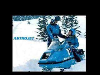 SNOJET ASTROJET AstroSST SS SST SNOWMOBILE PART MANUALs