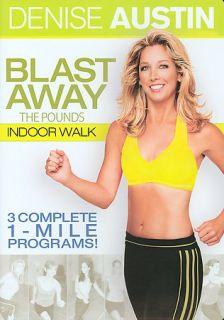 Denise Austin   Blast Away the Pounds Indoor Walk (DVD, 2005)