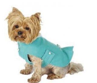 MAXS CLOSET PET DOG CLOTHING DESIGNER DOG COAT YORKIE POODLE NWT XS M