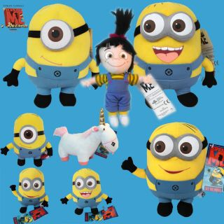 Despicable Me Minion Figure Toy Cute Movie Character Stuffed Animal