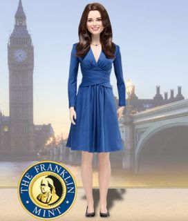 FRANKLIN MINT Kate Middleton Royal Engagement Doll IN STOCK NEW SEALED