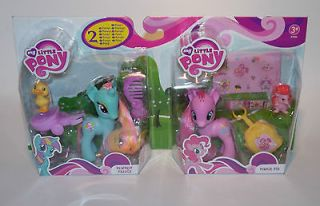 Pinkie Pie&Dewdrop Dazzle*~ MOC Friendship is Magic My Little Pony
