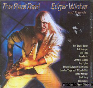 Edgar Winter The Real Deal CD Rick Derringer Leon Russell Ronnie