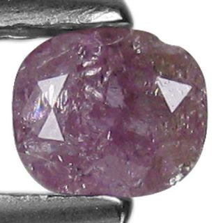 ct~UNIQUE RAREST ! STUNNING 100%NATURAL OVAL CUT PURPLISH PINK DIAMOND