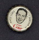 1964 65 COCA COLA COKE BOTTLE CAP WITH CORK TERRY SAWCHUK TORONTO