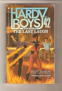 Newly listed Hardy Boys Casefiles #42 The Last Laugh by Franklin