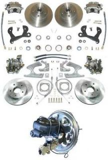 65 70 Chevy Full Size 4 wheel disc brake conversion kit (Fits Impala)