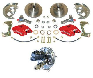 Wilwood D52 2 Piston Caliper Upgrade Power disc brake conversion kit