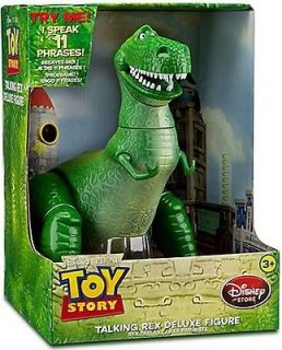 Disney Toy Story 3 T Rex Dinosaur Talking Action Figure Doll   woody
