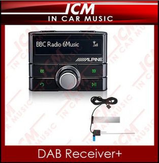 DAB DAB+ Digital Car Radio Receiver Tuner iPod iPhone Interface for