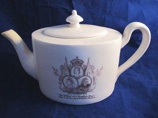 Queen Victoria Diamond Jubilee Teapot 1897 by Mintons for Mortlocks of