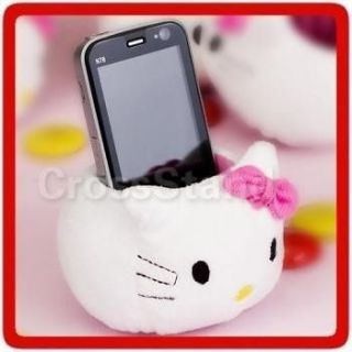 Newly listed 4x HELLO KITTY PLUSH TOY TABLE CELL CELLULAR PHONE HOLDER
