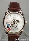 New Disney 25th Anniversary Sorcerer Mickey Mouse Watch Hard To Find