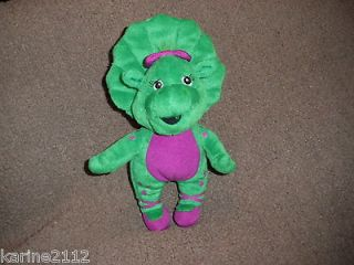 Barney 2007 Baby Bop 9 Plush Doll Toy Dinosaur Figure