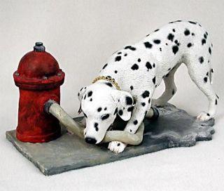Dalmatian Statue Figurine. Home Decor Yard & Garden Dog Products & Dog
