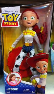 Disney Pixar Toy Story Jessie Yodeling Cowgirl 12 inch Poseable Doll