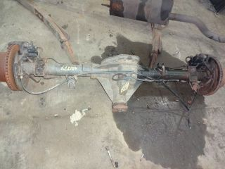 dodge ram rear axle