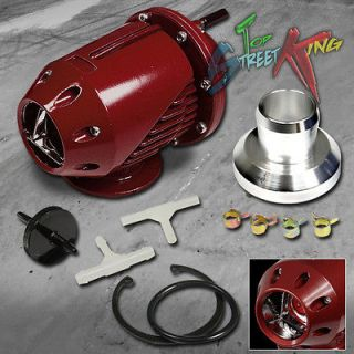 TYPE 2 TURBO BLOW OFF VALVE EXHAUST KIT RED (Fits Dodge Ram 1500 Van