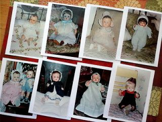 24 PHOTO Cards Compo Dolls 30s 40s Horsman Ideal Alexander American