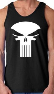 Punisher Dirty Laundry Tank Top Shirt   All Sizes